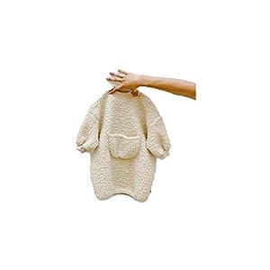 Unique Life - Sudadera de Invierno para niños, con Bolsillo Grande y Vestido de Terciopelo 5