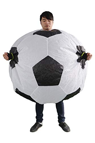Adult Mens Inflatable Football Costume