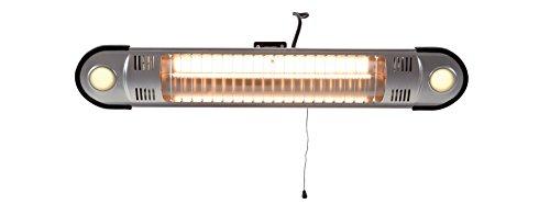 outTrade HWML1500 Heizung Wand 1500 W mit Licht - 2