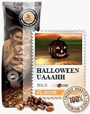 Halloween Kaffee 1000g Bohnen - Halloween-nation