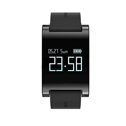 Walkretynbe Health & Fitness Smartwatch, wiederaufladbar, Bluetooth, Herzfrequenz-Monitor, Fitness-Tracker, Smart-Armbanduhr (Polar-kalorien-herzfrequenz-uhr)