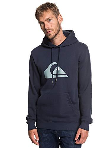 Quiksilver Big Logo - Hoodie for Men - Kapuzenpulli - Männer - XS - Blau -