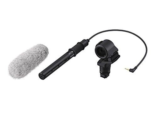 Sony ECM-CG60 Mikrofon (kompatibel mit Sony Alpha Kameras und Handycam wie A6000, A6300, 6400, 6400, A7, A9, ideal für Vlogs) Sony Handycam Audio