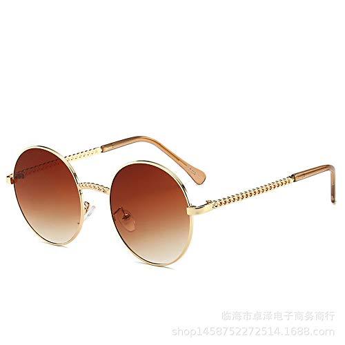 hw Sonnenbrillen Retro-Aussehen Qualität UV400 Männer und Frauen Sonnenbrillen neutrale klassische Brille Brown
