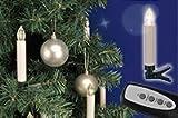 20 kabellose Mini-Weihnachtskerzen mit Fernbedienung und verschiedenen Leuchtfunkionen