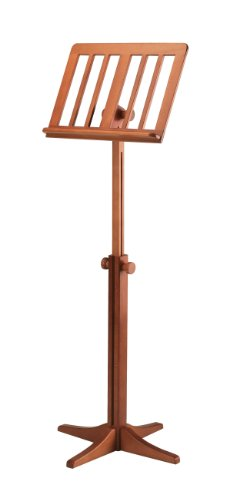 K&M 11617 Wooden Music Stand, Cherry