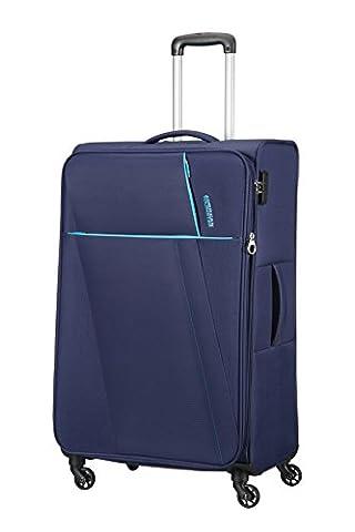 AMERICAN TOURISTER Joyride - Spinner 79/29 Expandable Bagage cabine, 79 cm, 106.5 liters, Bleu (Nordic Blue)