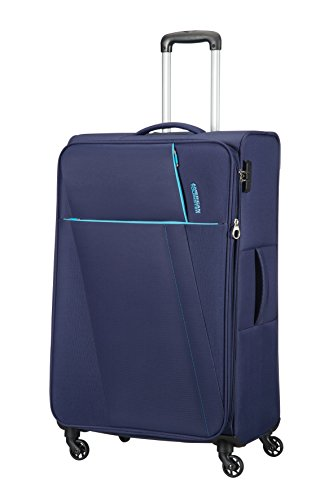 AMERICAN TOURISTER Joyride - Spinner 79/29 Expandable Bagaglio a mano, 79 cm, 106.5 liters, Blu (Nordic Blue)