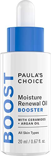 Paula's Choice Moisture Renewal Oil Booster | Anti Aging Öl Serum Reduziert Falten und Rötungen für Gesicht & Augen | mit Arganöl und Jojobaöl | Trockene bis Sehr Trockene Haut | 20 ml - Skin Renewal Booster