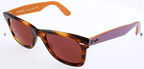 Ray-Ban sonnenbrillen 11772K Marco: Striped Havana, Lente: Dark Red, 50