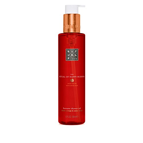 Rituals The Ritual of Happy Buddha Shower Oil Duschöl, 200 ml