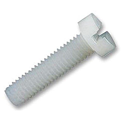 Nylon Vis à tête cylindrique à vis M2 x 20 mm (PK50) Attaches et matériel