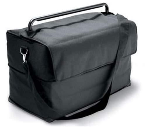 Takestop® - Bolsa para Barbacoa portátil de poliéster Impermeable, Color Negro, con Correa Acolchada...