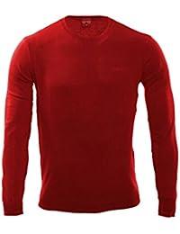 Hommes Sweater TAILOR - Rouge par Gear