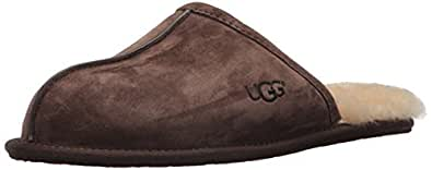 Ugg Scuff, Chaussons homme - Marron (expresso), 40.5 EU