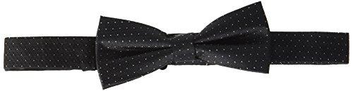 Calvin Klein Herren BOW TIE Krawatte, Schwarz (Black 001), One Size Black Tie Bow Tie