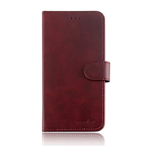YZKJ Cover für Elephone P9000 Hülle, Flip PU Ledertasche Handyhülle Magnetknopf Wallet Tasche Standfunktion Schutzhülle Case mit Kartenfach & Ständer für Elephone P9000 (5.5
