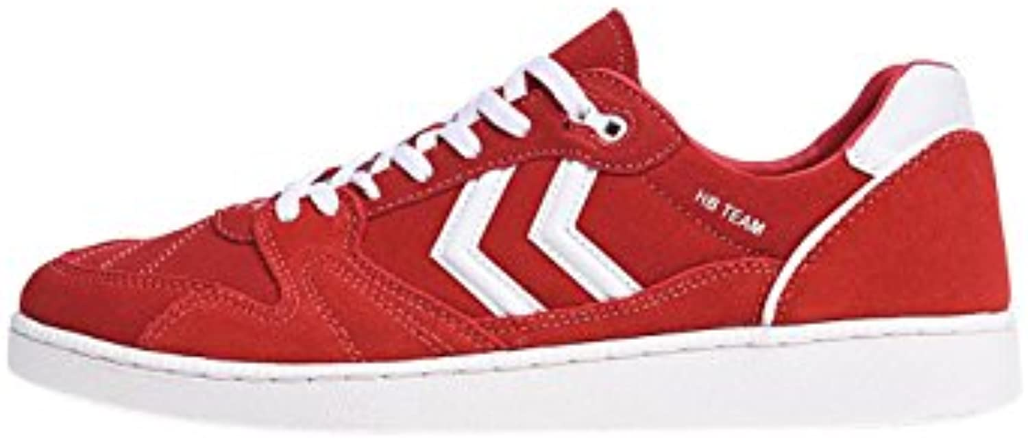 Hummel Hb Team Suede   fiery red