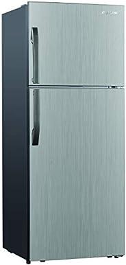 Nikai No-frost Double door Fridge 6.95Cubic Feet, 197Liters inox Silver Color - NRF250FSS21H