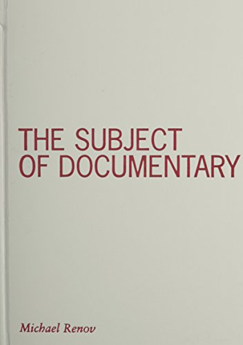Subject of Documentary (Visible Evidence, V. 16)