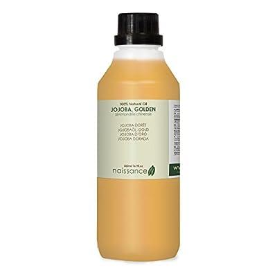 Naissance Golden Jojoba Oil 500ml 100% Pure by Naissance