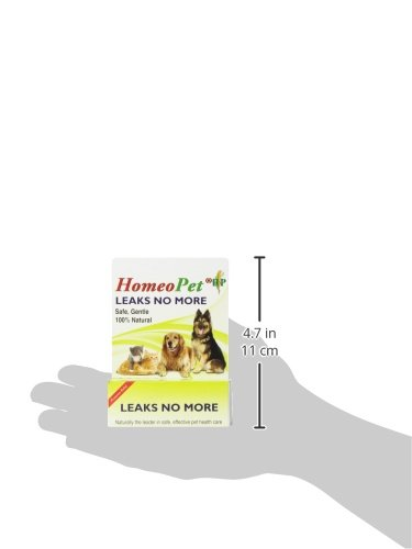 HomeoPet Leaks No More, 15ml 4