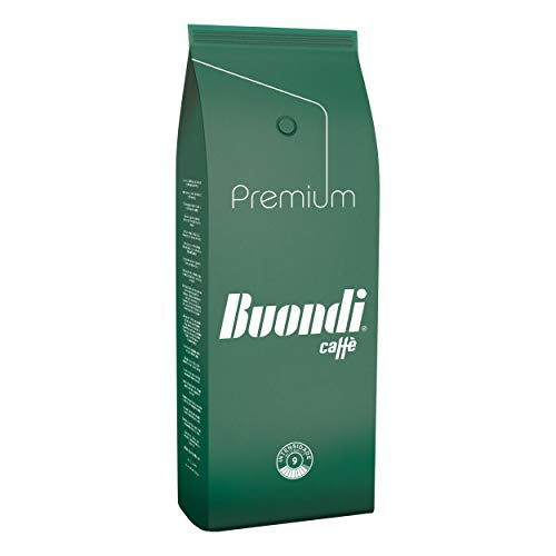Buondì Premium, Chicchi Interi, Caffè, Espresso, Cappuccino, Macchiato, 6 x 1000g