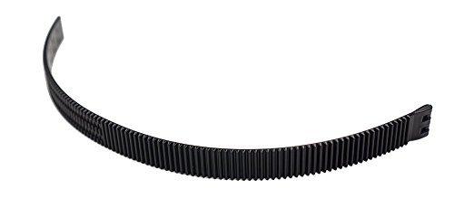 Half Inch Rails Zip Tie Focus Gear - Maxi - Zahnkranz für Follow Focus/Schärfezieheinrichtung mit 0.8 Pitch für Objektive von 60mm bis 90mm / Lens Gear
