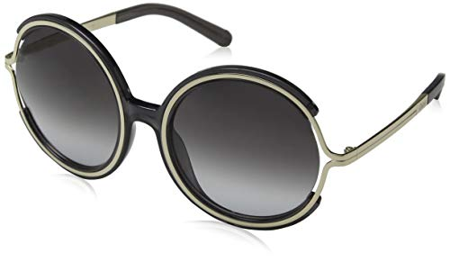 Chloè ce708s 036 58 occhiali da sole, grigio (dark grey), donna