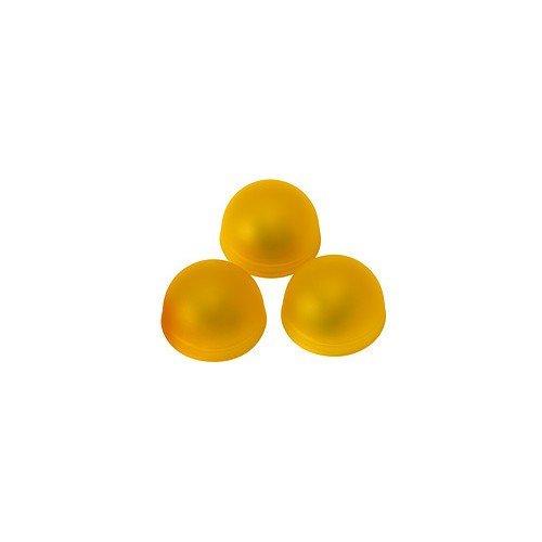 IKEA Halbkugelleuchten'SOLVINDEN' 3 Stück in Gelb, Durchmesser ca. 4 cm, batteriebetrieben...