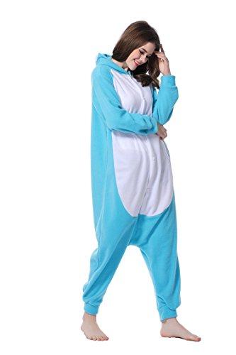 Kigurumi Pyjama Lapin Costume Cosplay unisexe pour Carnaval Halloween Noël Anniversaire Party 3