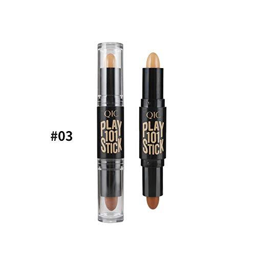 Verbessertes Makeup mit defektem Stift für dunkle Kreise vor Ort