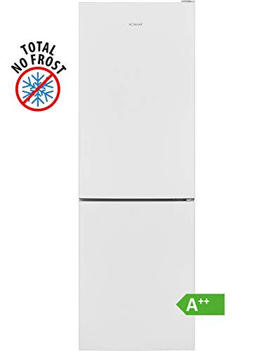 Bomann KG 7303 Kühl-/Gefrierkombination / EEK A++ / Kühlen 161 L / Gefrieren 70 L / Höhe 170 cm / Breite 54 cm / 197 kWh/Jahr / Total No Frost / multiAirflow-System / Weiß