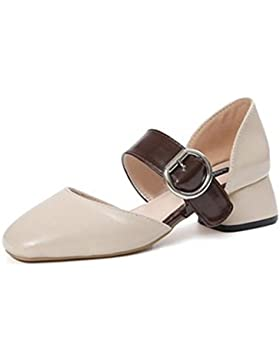 pengweiEn el medio con una palabra hebilla zapatos de damas con ¨¢spero sandalias romanas , US5.5 / EU36 / UK3.5...