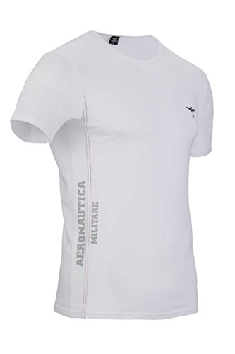 Aeronautica militare underwear cc- round neck t-shirt linea a.m. melange grey1 xl