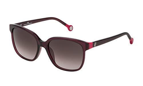 Carolina Herrera Damen SHE687540V01 Sonnenbrille, Schwarz (Negro), 54