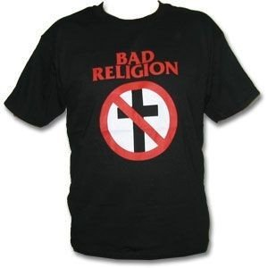 Bad Religion - Cross Buster T-Shirt, schwarz, Grösse XL