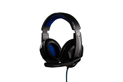 THE G-LAB - KORP 100 Casque Gamer compatible avec PC, PS4 & Xbox | Confortable | Stéréo X-Tra Bass | Télécommande fournie | Microphone polyvalent | Ajustable aisément | Accessoires Gamers