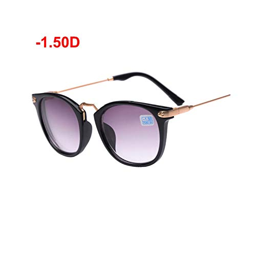 Sportbrillen, Angeln Golfbrille,NEW Hot Finished Myopia Sun Glasses, Fashion Myopia Frame And Lens 100-400 Degrees Sunglasses -1-1.5 -2-2.5 -3-3.5 -4 150 CASE