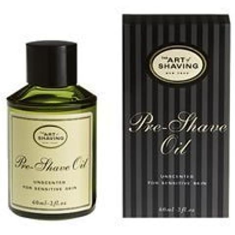 The Art of Shaving Pre-Shave Oil, Unscented, for Sensitive Skin, 2 fl oz (60 ml) by Art of Shaving by Art of Shaving