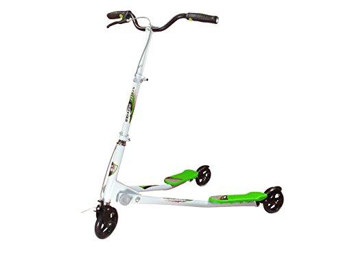 Street Speeder - Patinete con forma de V Con 3 ruedas y...