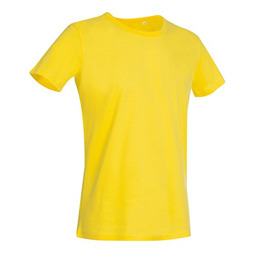 Stars By Stedman Herren Ben T-Shirt, Rundhalsausschnitt, Kurzarm Schiefergrau