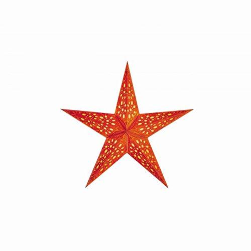 Papiersterne Weihnachtsbeleuchtung.Estrella De Papel Starlightz Mono Small Lámpara Naranja