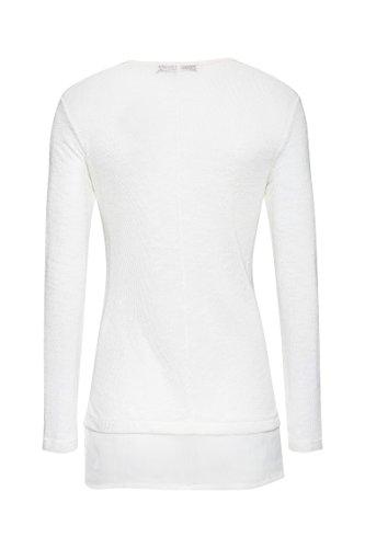 Bellybutton 1/1 Arm, T-Shirt de Maternité Femme Blanc (vaporous Gray gray 1750)