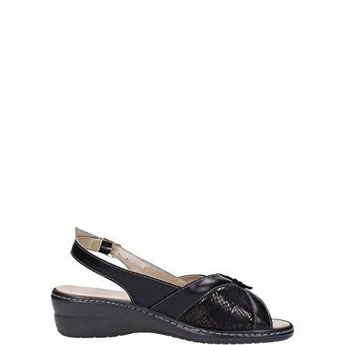 Melluso 02329 Sandalo Donna Nero