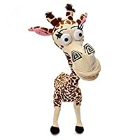 "FidgetGear 1pcs 12"" 35CM Long Neck Giraffe Stuffed Plush Toy Madagascar 3 Cute Deer Doll"