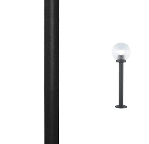 cm.34x24x19 colore nero LAMPADA LANTERNA PER PALO /'RESIDENCE/' 60 W