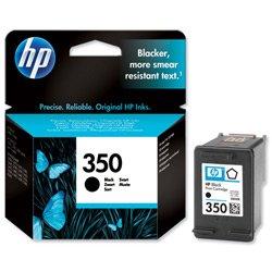 Preisvergleich Produktbild Nützlich und praktisch. HP Hewlett Packard 350Tintenpatrone, 52g, Schwarz, Ref CB335EE