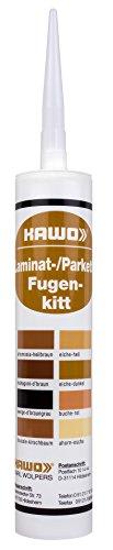Eiche Hell Set (KAWO Laminat-/Parkett-Fugenkitt Dichtstoff auf Dispersionsbasis, 3er-Set, eiche-hell)
