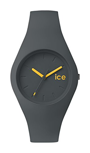 ICE-Watch - ICE.FT.UCH.U.S.14 - Ice Forest - Urban Chic - Montre Mixte - Quartz Analogique - Cadran Gris - Bracelet Silicone Gris